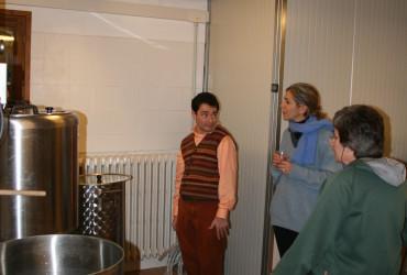 13 febbraio 2008 – Prima cotta del Birrificio Vecchia Orsa