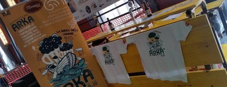 La birra dell'Unione per i terremotati di Montegallo